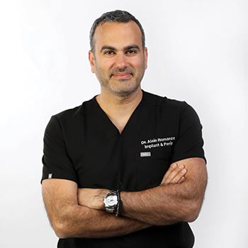 Dr Alain Romanos DMD-MS Periodontics and mplantology